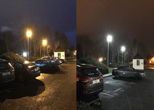 Retail Car park Lighting